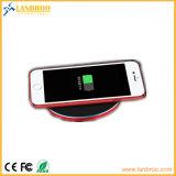 Super Slim металлические панели зарядного устройства беспроводной сети быстрая зарядка iPhone 8/X/8plus/S8/S9/Примечание5/Примечание7 и т.д.