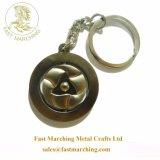 Custom 3D Metal Fabricantes China Online Puff Ball chaveiro