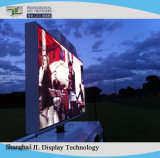 High Brightness LED Screen Outdoor Fixed Installation P10 for Advertizing