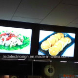 Menu Board Fast Food per Restaurant Equipment Light Box