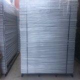 高品質はオーストラリアの標準熱い浸された電流を通された鋼鉄一時塀のパネルを使用した