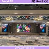 Pixel 4 mm de alto Actualizar panel LED para interiores, exteriores publicidad audiovisual.