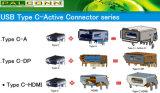 Port USB de type C-Connecteur Active, d'entrée 22pin,, 9 broches de sortie de la transmission de données standard : USB/Gen2 Gen1