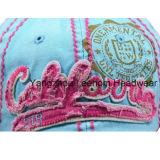 洗浄された方法綿プリント余暇の夏のスポーツの帽子
