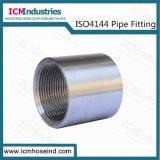 Acier inoxydable150lb Raccords filetés de couplage/ISO 4144 le raccord de tuyau