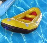 Aufblasbares kundenspezifisches Fischerboot für Wasser-Spiel