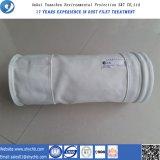 Filtro de bolso del fieltro PTFE de la aguja de la buena calidad para la planta del cemento