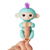 Het Speelgoed van de Aap van de Vinger van het Stuk speelgoed van de Aap van de Baby van jonge vissen