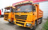 Shacman D'long 6X4 345HP Speicherauszug-Lastkraftwagen mit Kippvorrichtung