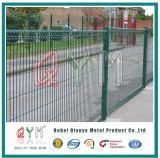 Brc Schweißungs-Ineinander greifen-Panel-Zaun/Rollenoberster dekorativer Draht-Zaun