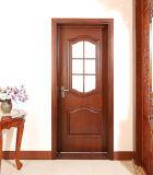 تصميم حديثة [سليد ووود] داخليّ أرجوحة خشب باب لأنّ بناء وزخرفة