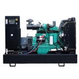 비상 전원 공기에 의하여 냉각되는 침묵하는 디젤 엔진 발전기