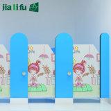 Compartiments phénoliques solides de douche d'enfants de panneau de Jialifu HPL