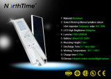 Infrarode Sensor van de Motie alle-in-Één ZonneStraatlantaarn met Comité Sunpower