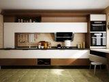Gabinetes de cozinha lineares modernos do estilo do projeto novo