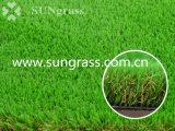 erba artificiale di paesaggio di 30mm per il balcone del giardino (SUNQ-HY00144-1)