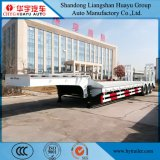 De Semi Aanhangwagen van het laag-Bed van de uitvoer voor het Graafwerktuig Transportion van het Gebruik van de Aanhangwagen van de Tractor