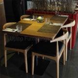 Personalizar a mobília do restaurante da madeira contínua ajustada (SP-CS339)