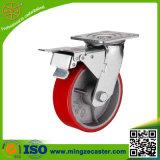 150mm PU-Rad-Fußrolle mit Qualität