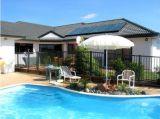 Haute efficacité de la piscine à écran plat chauffe-eau solaire