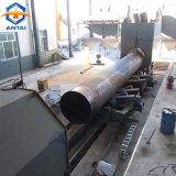 Machine de grenaillage de paroi interne de pipe en acier avec l'air comprimé