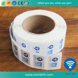 O papel barato RFID etiqueta o preço de etiqueta de NFC