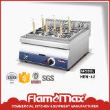 Commerciële Pan Elektrische Bain Marie Countertop van 4 voor Keuken (heb-62)