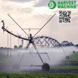 Sistema de irrigação móvel agricultural usado exploração agrícola do sistema de extinção de incêndios do viajante