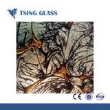3-15mm verre à motifs colorés