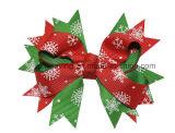De kleurrijke Boog van het Haar van de Klem van het Haar van de Druk van Kerstmis