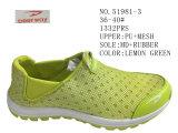 Deux couleurs Femmes chaussures occasionnel de stock