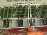 Panneau de clôture temporaire, clôture Séjour, Brace, colliers, panneau de clôture soudé