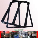 Peças revestidas lisas feitas sob encomenda da fabricação de metal do pó preto