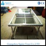 Алюминиевая передвижная платформа этапа акрилового стекла