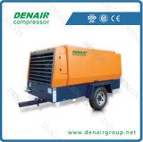 55kw 300cfm eléctrico portátil de minería de compresor de aire (DDY-8.2/10)