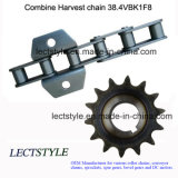 catena agricola del rullo 38.4V, 38.4vb, 38.4r e ruota dentata agricola per la mietitrice di raccolto di cotone
