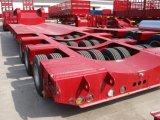 半永久にWeifangの熱い販売の低い平床式トレーラーのトレーラーかトラックのトレーラー