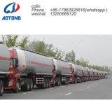 Venta de fábrica 55cbm gas/tanque de líquido ácido química semi remolque