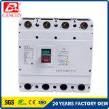 interruptor eléctrico MCCB MCB RCCB 3p del corta-circuito 400A