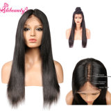 Super Amazin Full Lace Wig avec de la soie en haut, vague d'aspect naturel Ombre couleur perruque brun