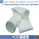 Bolso de filtro del colector de polvo de la fibra de vidrio para la planta de mezcla del asfalto