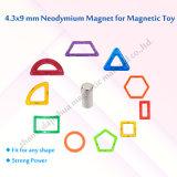 StandardN35 Grad der Spielzeug-Magnet-D4.3*9mm 4000GS