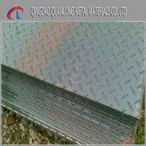 Preço galvanizado da placa de aço do verificador