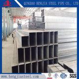 Tubo d'acciaio rettangolare del carbonio comune con il certificato dello SGS