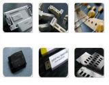 30W de alta precisión de metal marcadora láser de fibra 100mmx100mm