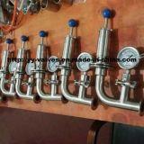 Valvola di sicurezza di pressione dell'acciaio inossidabile per la fabbrica di birra