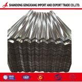 Feuille de carton ondulé en acier galvanisé