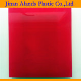 2017 Hot vendre feuille acrylique moulé de couleur rouge 48X96