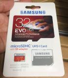 Tarjeta micro al por mayor Evo de los CF del TF de la tarjeta de la clase 4 Class6 Class10 U1 SD de 8GB 16GB 32GB 64GB 128GB 256GB más las tarjetas del SD de la tarjeta de memoria U1 para el vídeo musical
