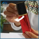 赤いアルミニウム香水瓶の卸売の正方形の香水ポンプスプレーヤーのびん